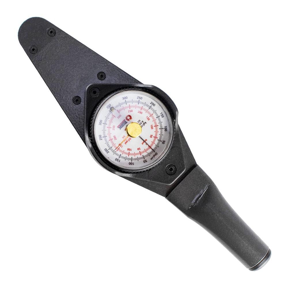 Torquímetro de relógio 0 a 35 kgf/cm com ponteiro de arraste